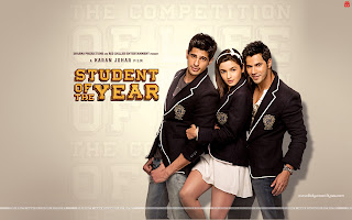 Student Of The Year Alia Bhatt, Varun Dhawan, Sidharth Malhotra wallpaper in school dress