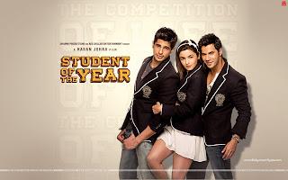 Student Of The Year Alia Bhatt, Varun Dhawan, Sidharth Malhotra wallpaper in school dress