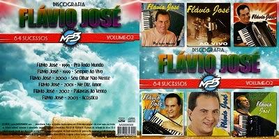 Flávio José  Discografia Vol.2 CD 2014