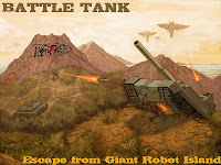 Battle Tank Box Art Giant Robot Island