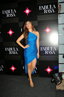 Kiara Advani Pictures in Blue Dress at Fabula Rasa Show Room Launch ~ Celebs Next