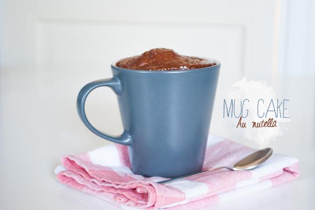 Recette Mug Cake Nutella  Personne