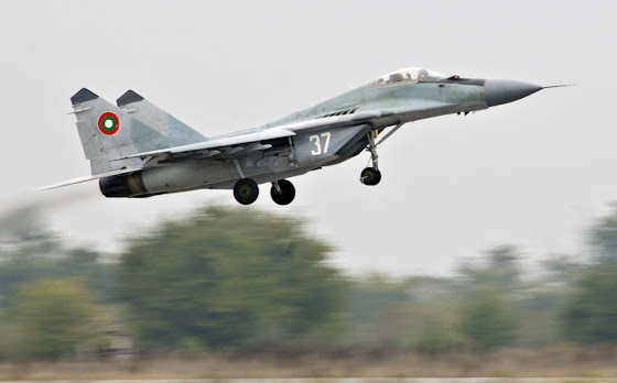 Bulgarian Air Force Mig-29 Fulcrum