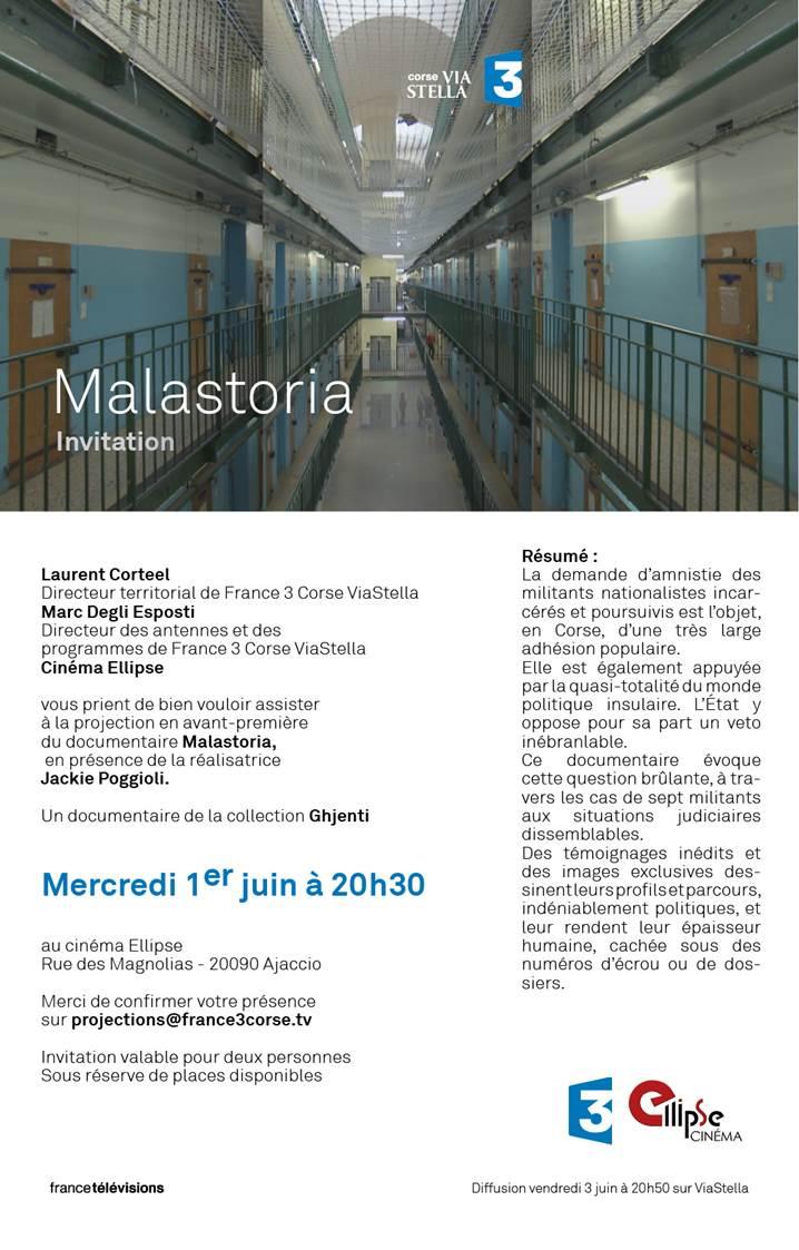 MALASTORIA - Film réalisé par Jackie Poggioli