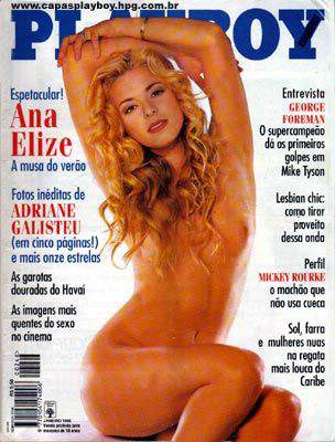 Ana Elize - Playboy 1996