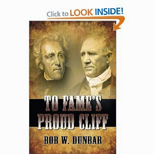 TO FAME'S PROUD CLIFF BY BOB DUNBAR