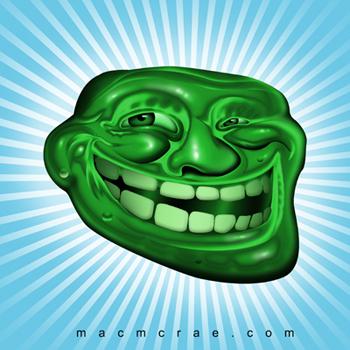U Jelly Trollface Nerdy for Nails: Meme ...