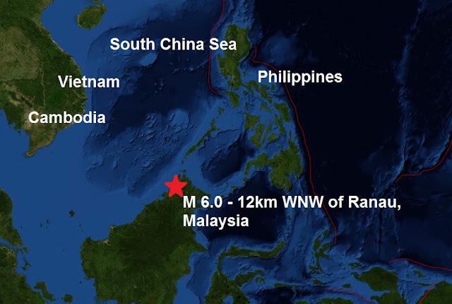 Malaysia quake traps 160 climbers on Mount Kinabalu  Untitled