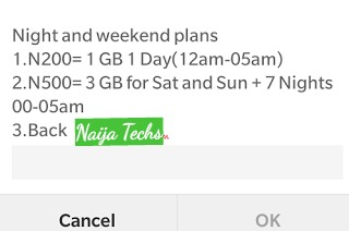 Glo cheap weekend and daily plan
