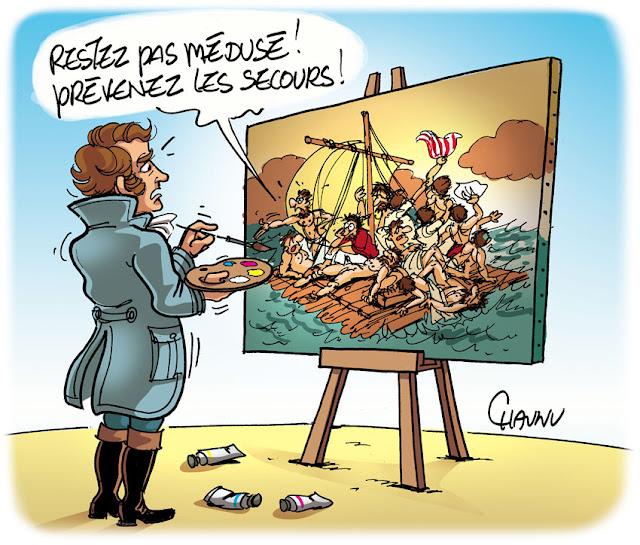 couleur réalisée pour les dessins de Chaunu - Illustres Normands