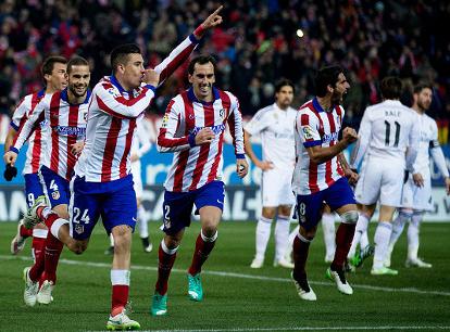Video Cuplikan Gol Atletico Madrid VS Real Madrid Copa Del Rey