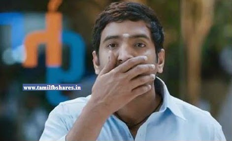 my reaction in tamil santhanam reaction facebook comment