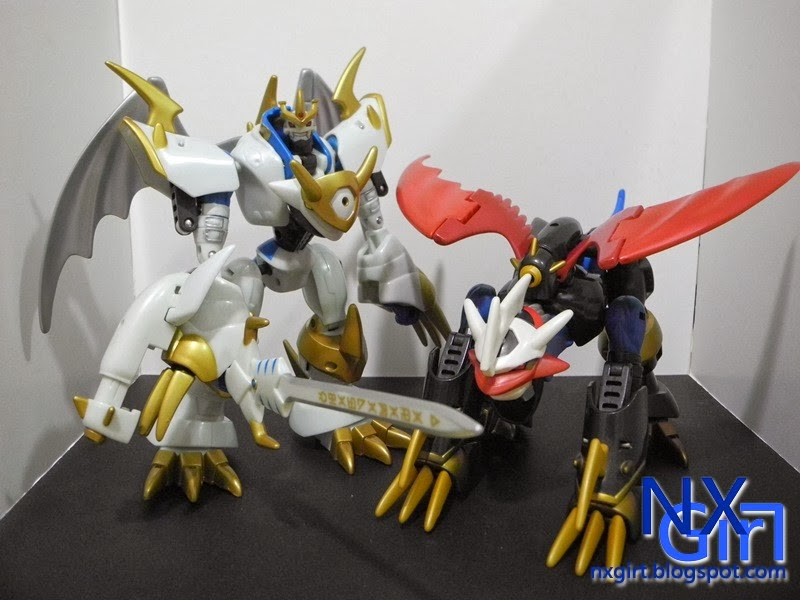 Paladin Mode and Dragon Mode Imperialdramon Paladin Mode Sword