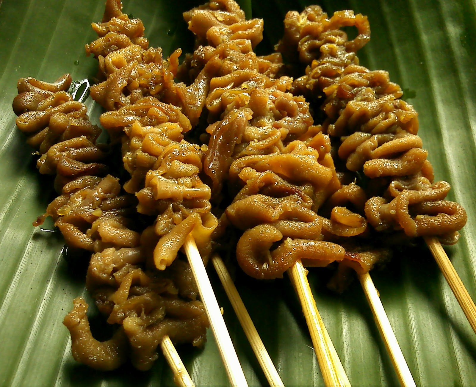 diah didi s kitchen sate usus bacem a la warung angkringan