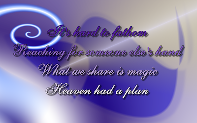 Sent From Up Above - Mariah Carey Song Lyric Quote in Text Image