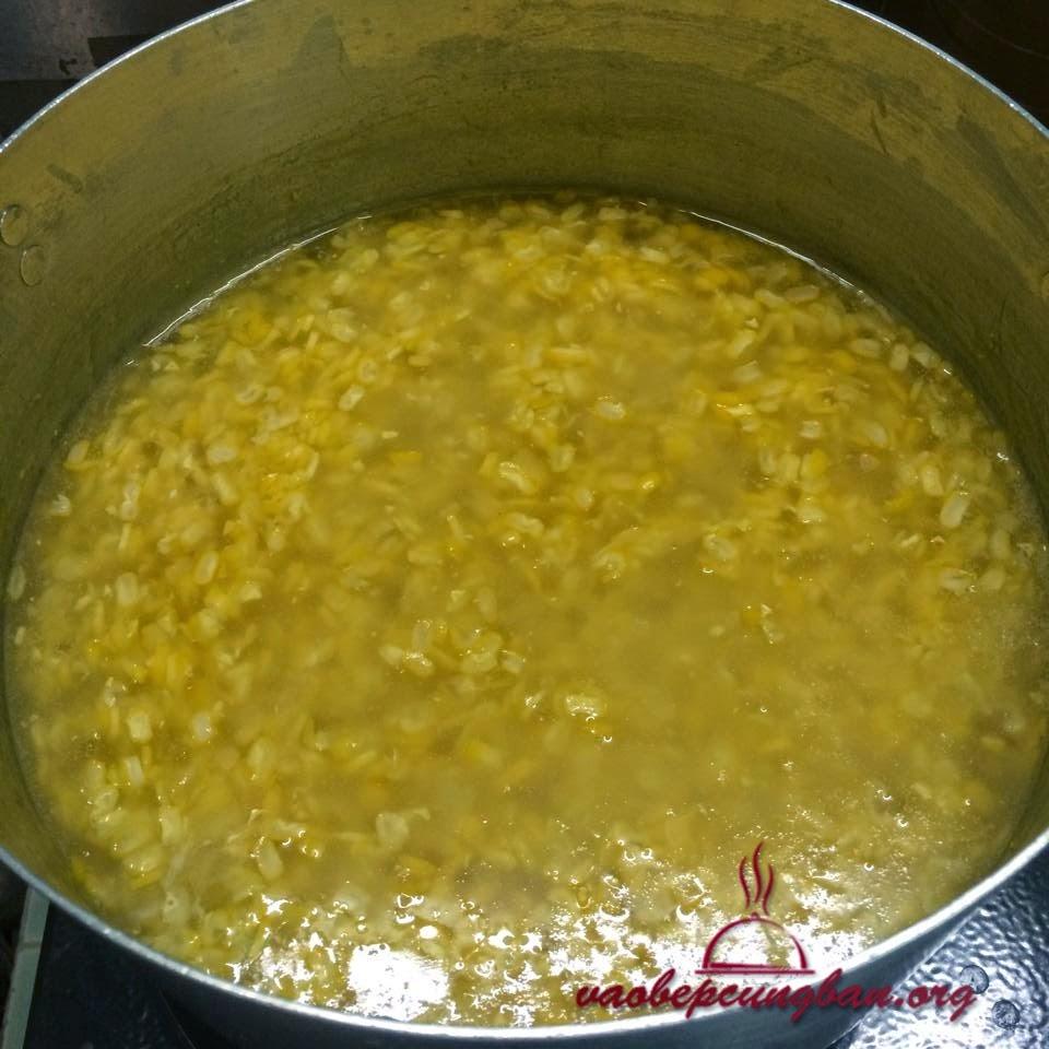 Công thức nấu chè Ngô ngọt đơn giản mà ngon 2