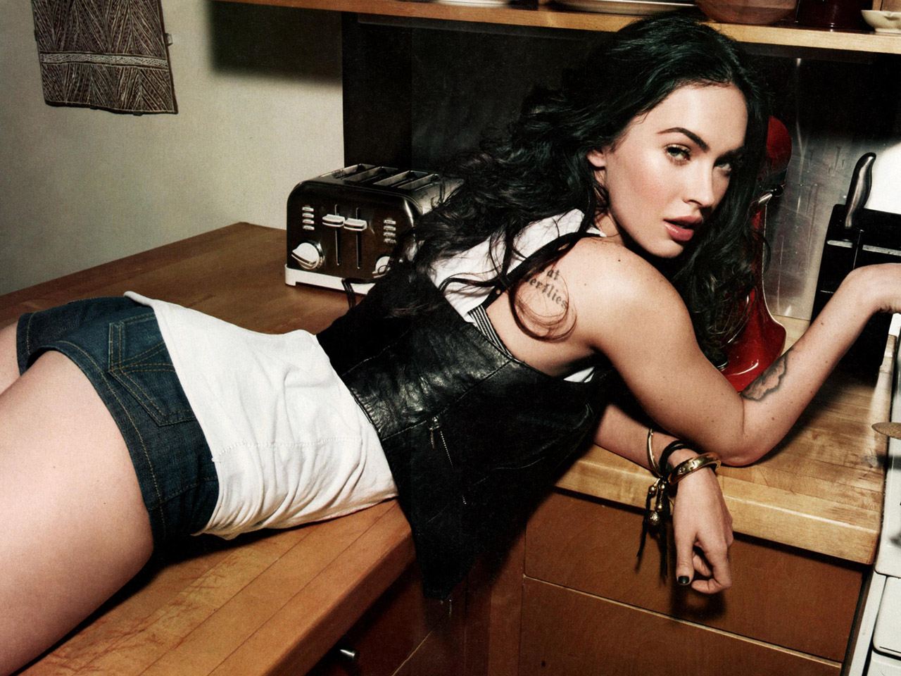 megan fox...fotos sexis!