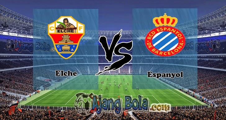 Prediksi Skor Elche vs Espanyol 03 November 2014, La Liga