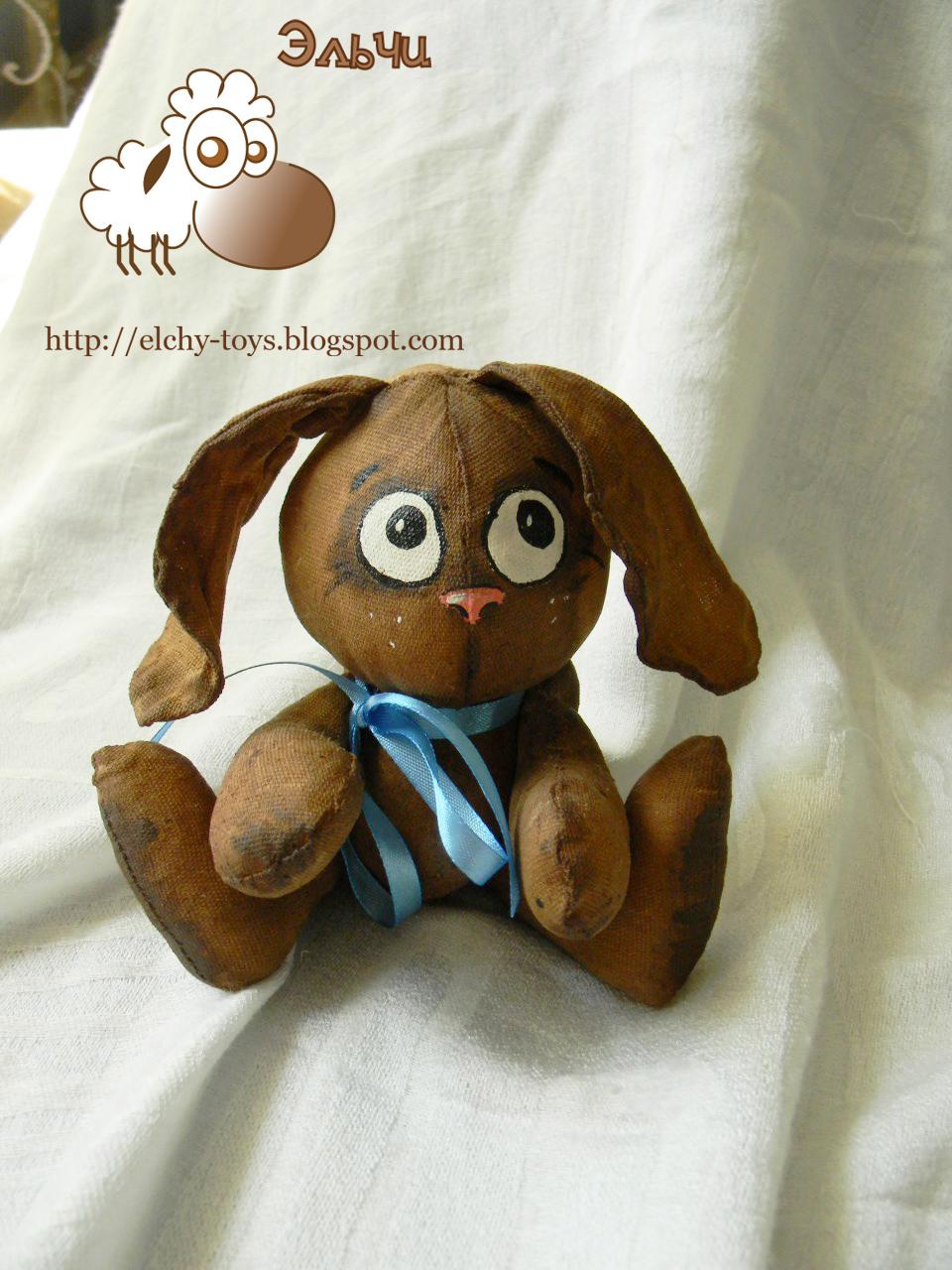 Мягкие игрушки своими руками - вязаная овечка крючком 70