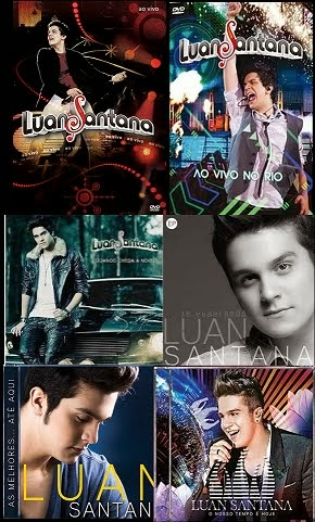 Todos Álbuns De Luan Santana