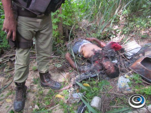 3d633498d58 Um crime com requintes de crueldade foi descoberto pela Polícia Militar de  Eunápolis