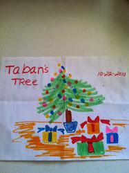Taban's Christmas Tree... 2010