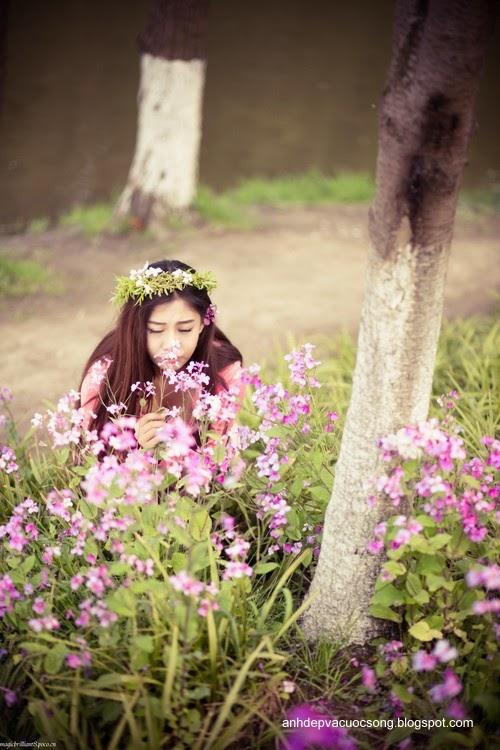 Váy hồng xinh xắn 2