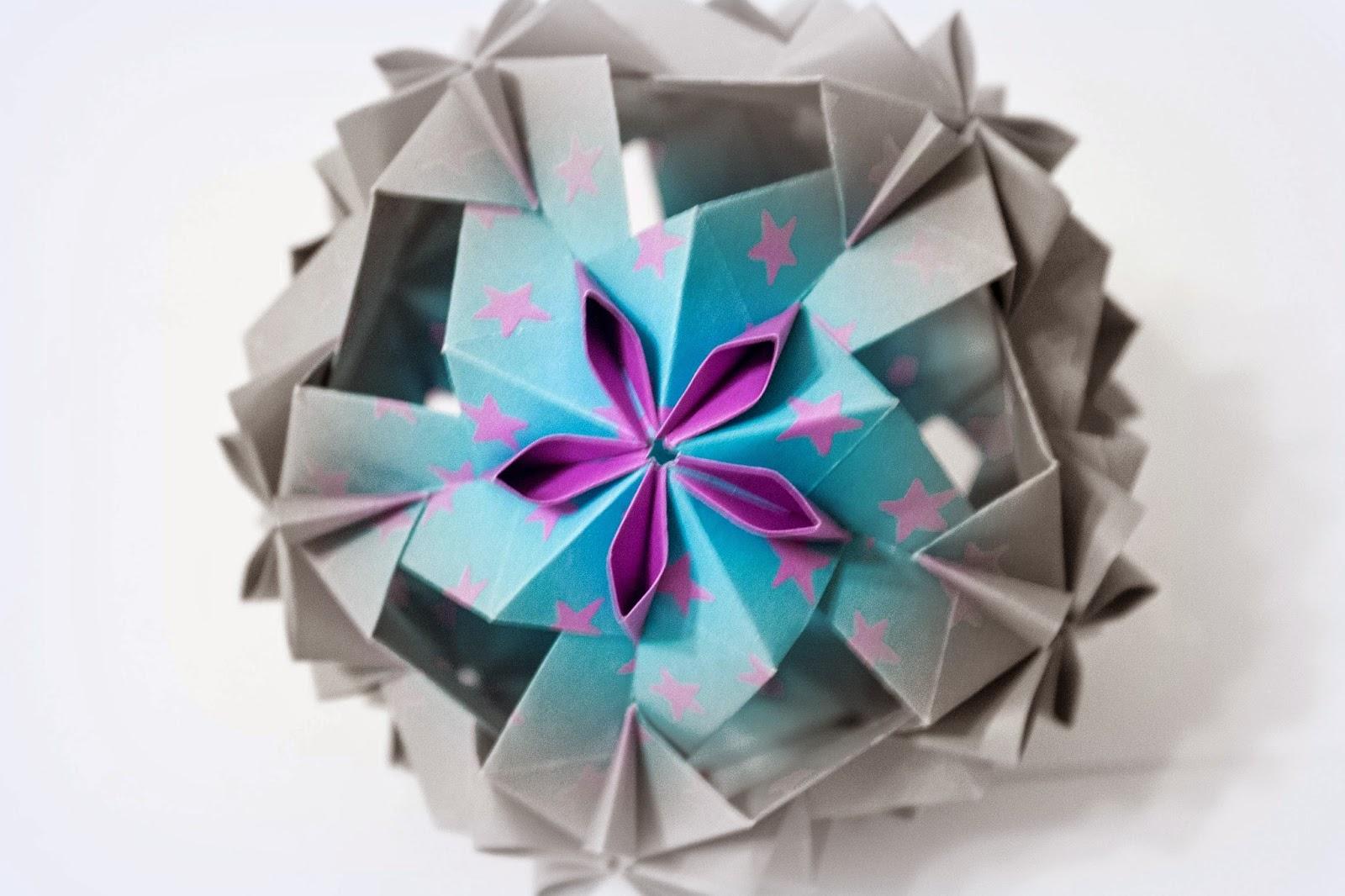 Will Fold For Paper Dulcinea Kusudama Design By Uniya Filonova