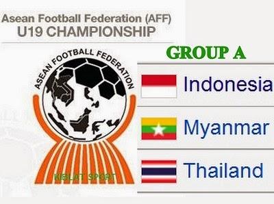 Timnas Indonesia U-19 Berada Di Group A Piala AFF U19 2014