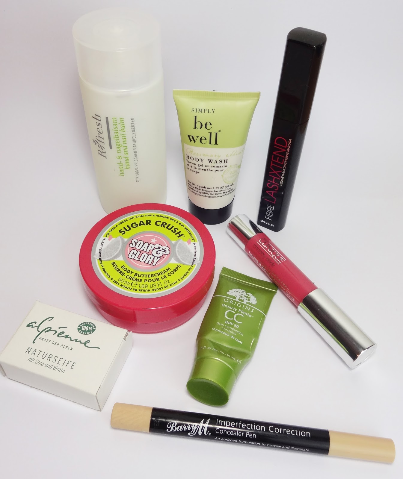 Soap & Glory, Barry M., Clinique, Origins, Ringana, Beautyblog