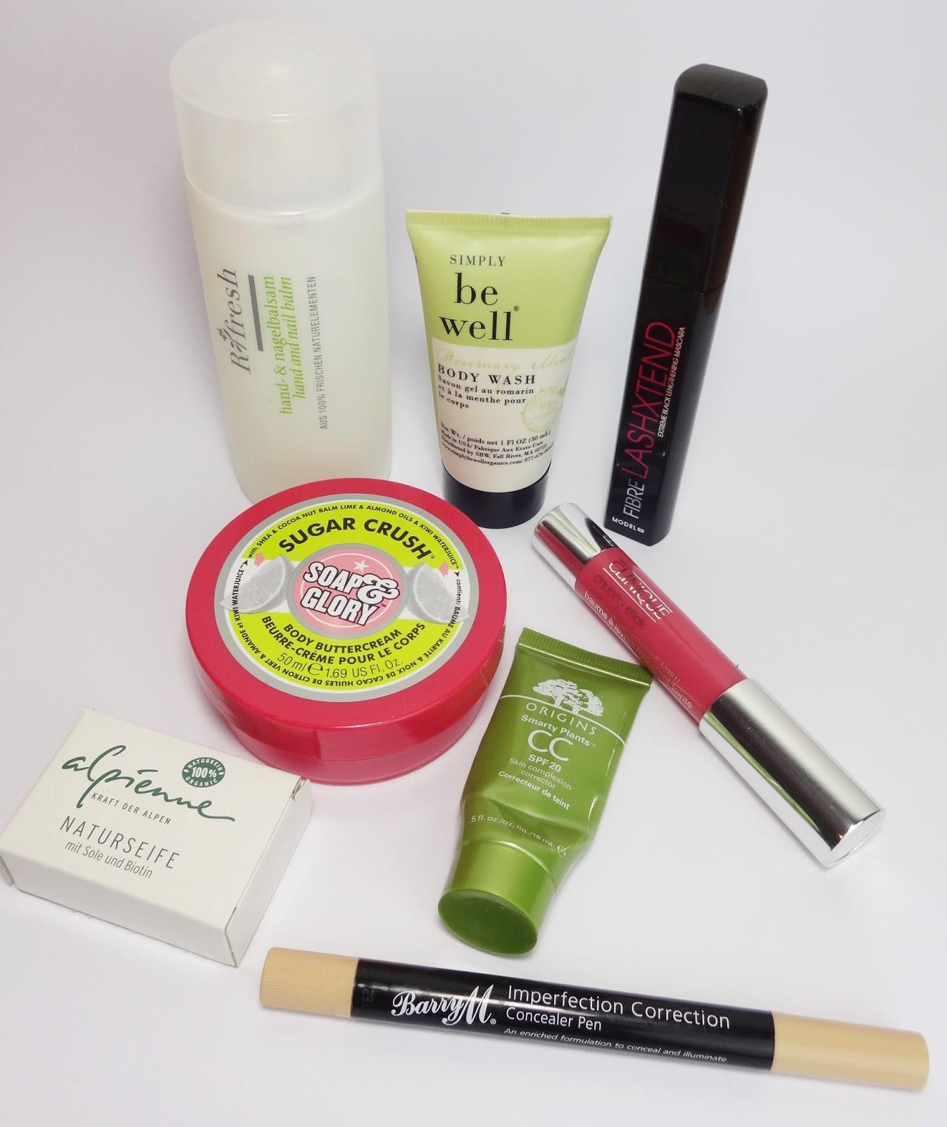 Soap & Glory, Barry M., Clinique, Origins, Ringana, Beautyblog