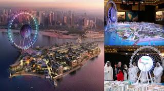 Dubai Saingi New York Bangun Bianglala Terbesar Sedunia dari daniel maulana