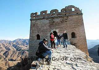 Mighty Great Wall in Beijing
