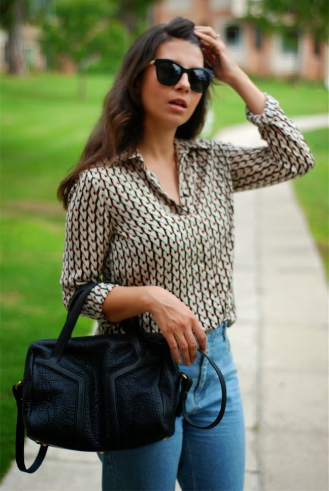 mom jeans, topshop streetstyle,fashion blogger, moda blogger, saint laurent,ysl,trendydolap