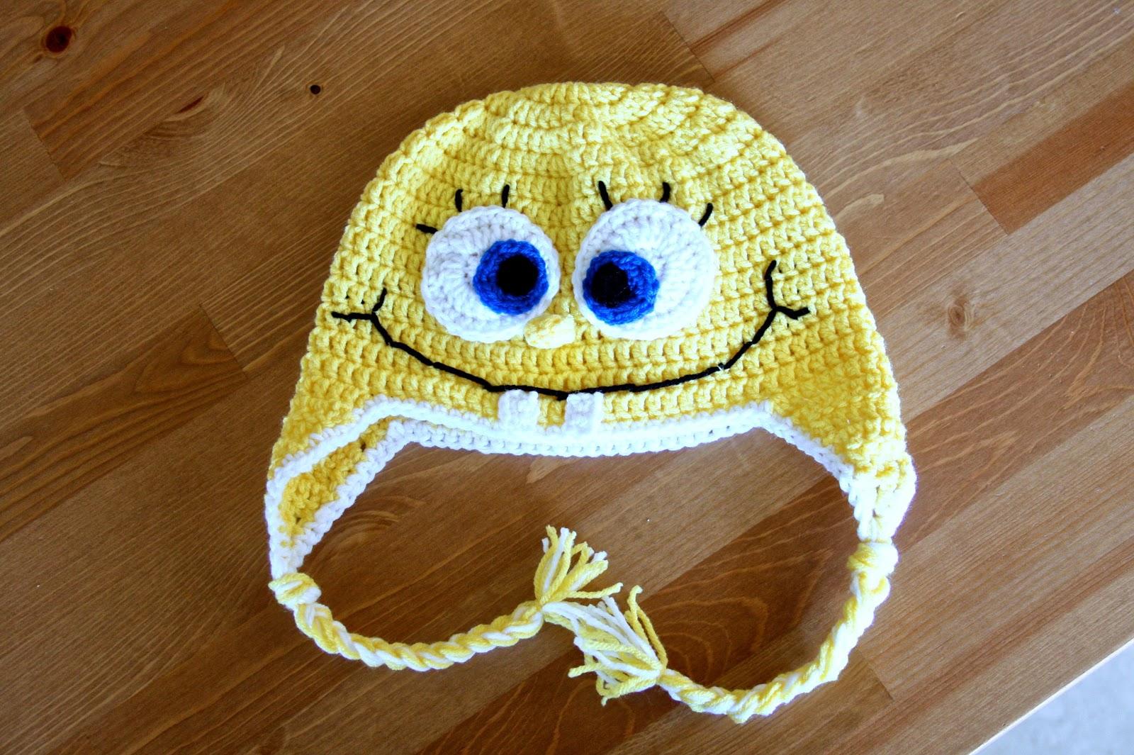 Free Crochet Pattern Spongebob Hat : Something About Katie: Crochet Has Taken Over My Life