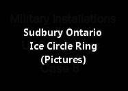Sudbury Ontario Ice Circle Ring