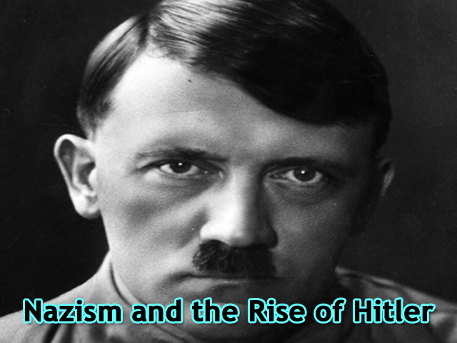 MCQs and Q&A of Nazism and the Rise of Hitler