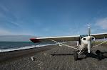 アラスカの大空へ