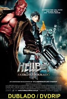 Assistir Hellboy 2 – O Exército Dourado  Dublado 2008