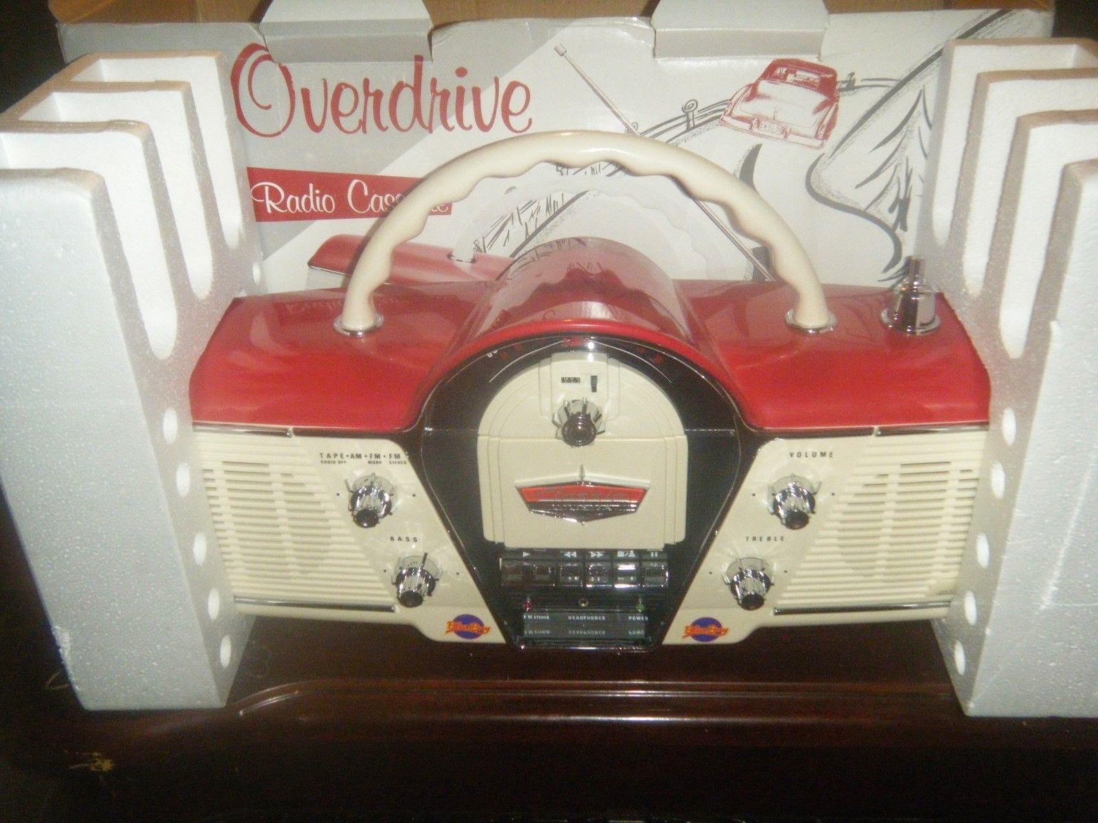 New Classic Cicena Overdrive Portable AM/FM Cassette Radio