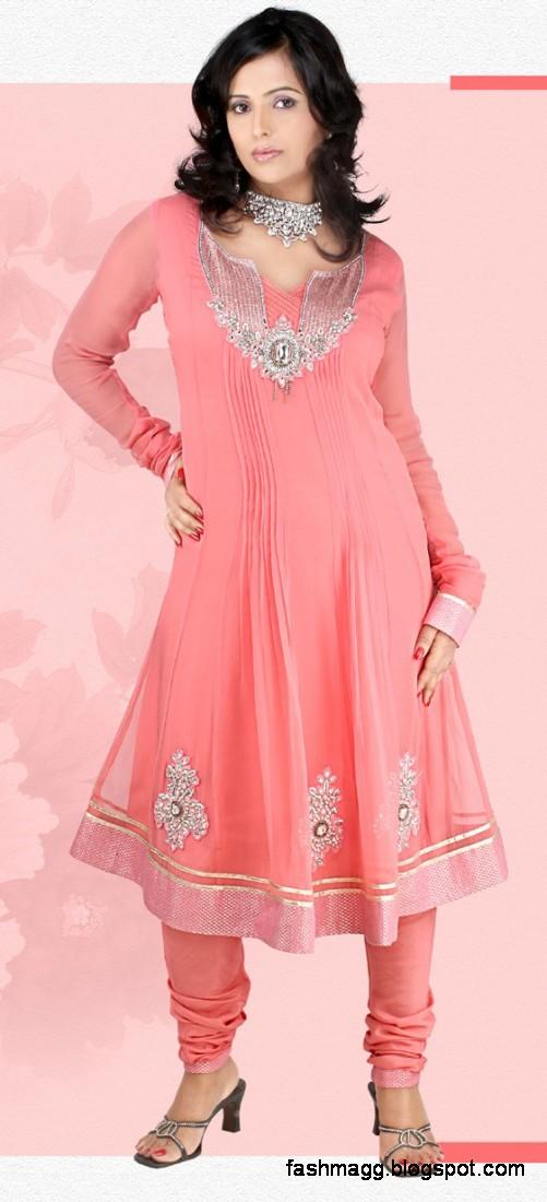 Fashion Style Anarkali Frocks Indian Pakistani Anarkali
