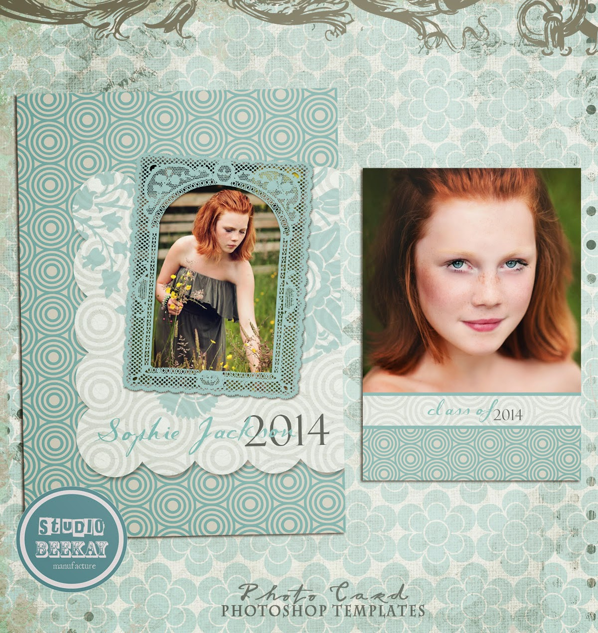 Photoshop templates for pro photographers senior for Free senior templates for photoshop