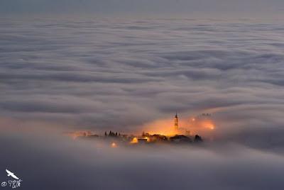 village above the clouds | unique news