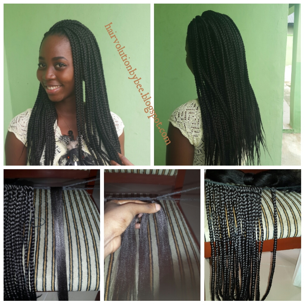 Hairvolution By Bee Crochet Box Braids 13 Weeks Post Relaxer Touch Up