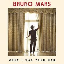 When I Was Your Man portada