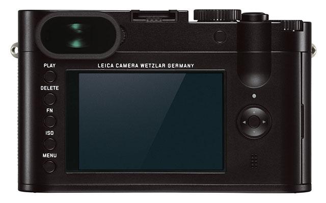 Fotografia del dorso della Leica Q