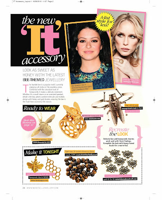Make & Sell Jewellery magazine feature