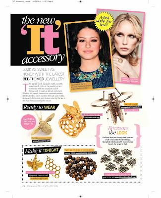Make & Sell Jewellery magazine feature