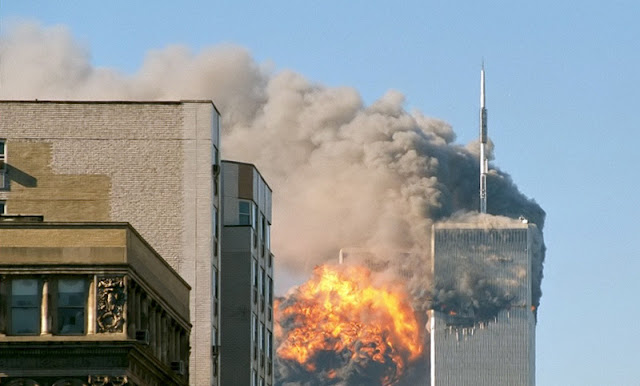 Twin Towers, New York, 11 septembre
