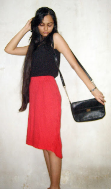 red skirt, christmas outfits, mumbai christmas
